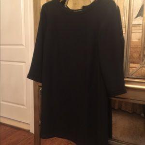 H n M black dress